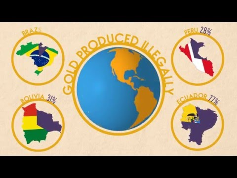 Organised Crime and Illegal Gold Mining in the Americas