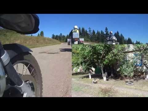 Adventure Moto výprava Rusko září 2013