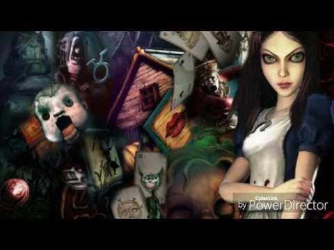 Картинки Алисы в стране кошмаров.