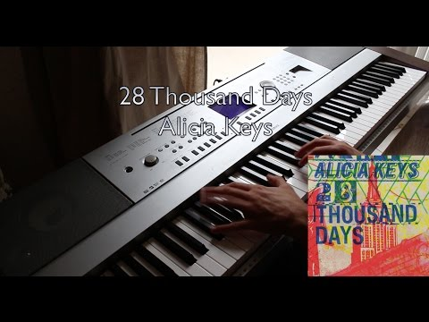 Alicia Keys - 28 Thousand Days (Piano and Sheet Music)