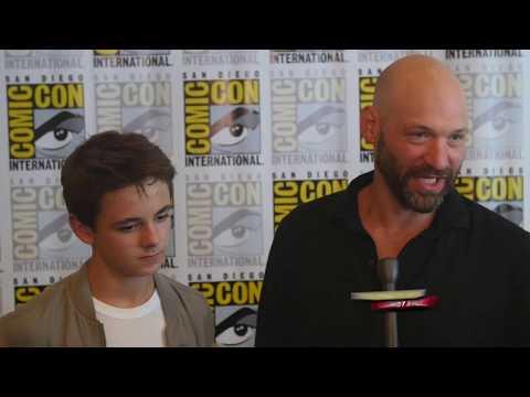 Max Charles (Zach) & Corey Stoll (Ephraim) discuss bad children, bad fathers and vampires