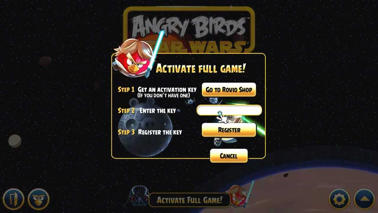 Angry birds Full Version with resolution 1024x1024