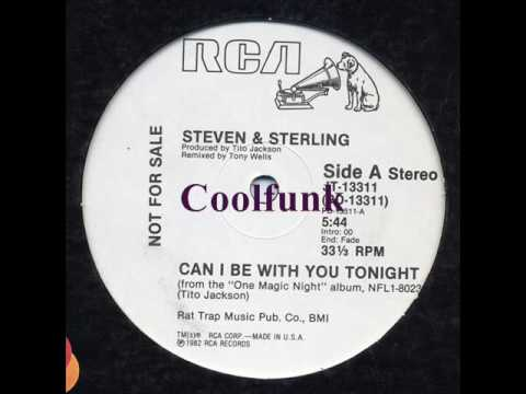 """Steven & Sterling - Can I Be With You Tonight (12"""" Disco-Funk 1982)"""
