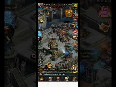 How To Auto Shield Castle- Clash Of Kings