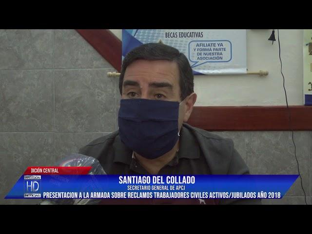Santiago del Collado   reclamos trabajadores civiles activos y o jubilados