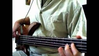 "Stone Temple Pilots ""Wicked Garden"" Bass Cover"