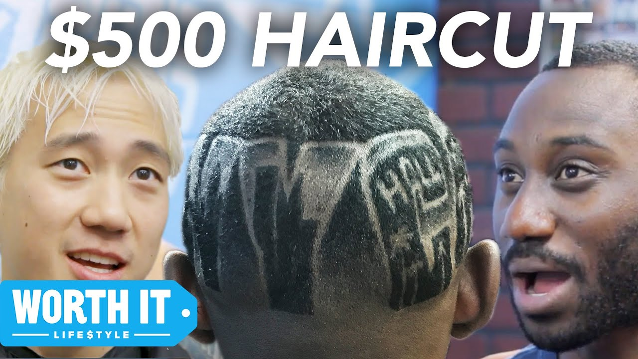 $15 Haircut Vs. $500 Haircut - YouTube