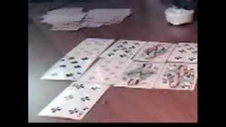 Быстрое гадание на картах в видео уроке 1.