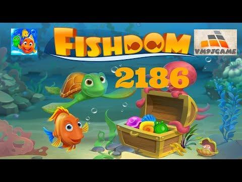 Fishdom SUPER HARD Level 2186 (iOS, Android)