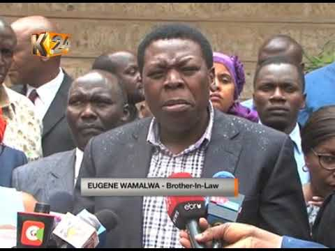 Ex-VP Michael Wamalwa's widow, Yvonne passes on in Nanyuki