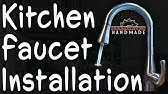 How To Install Flow Motion Activated Kitchen Faucet By Uplus Youtube