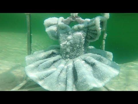 Israel: Frozen Crystal Beauty In The Dead Sea
