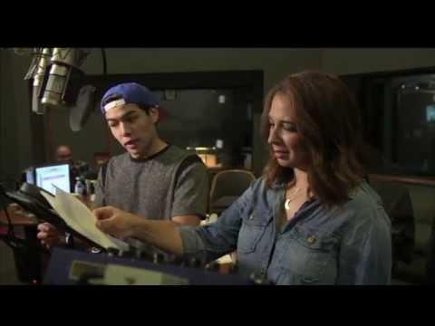 Disney's Big Hero 6: Maya Rudolph Studio Recording Cass (In Cinemas 13 Nov)