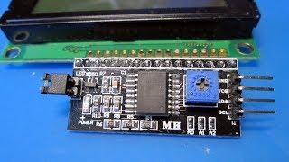 I2C Интерфейс для ЖК дисплея 1602/2004 и конденсаторы 2A223J