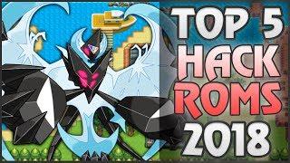 TOP 5 Hack Roms de Pokemon 2018 + Links de Descarga GBA-Ds-Pc!!