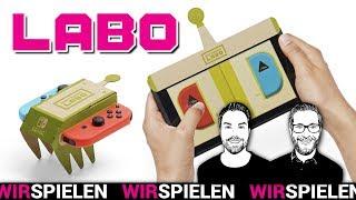 Nintendo Labo im Test: Die kreativste Spiel-Idee seit Jahren