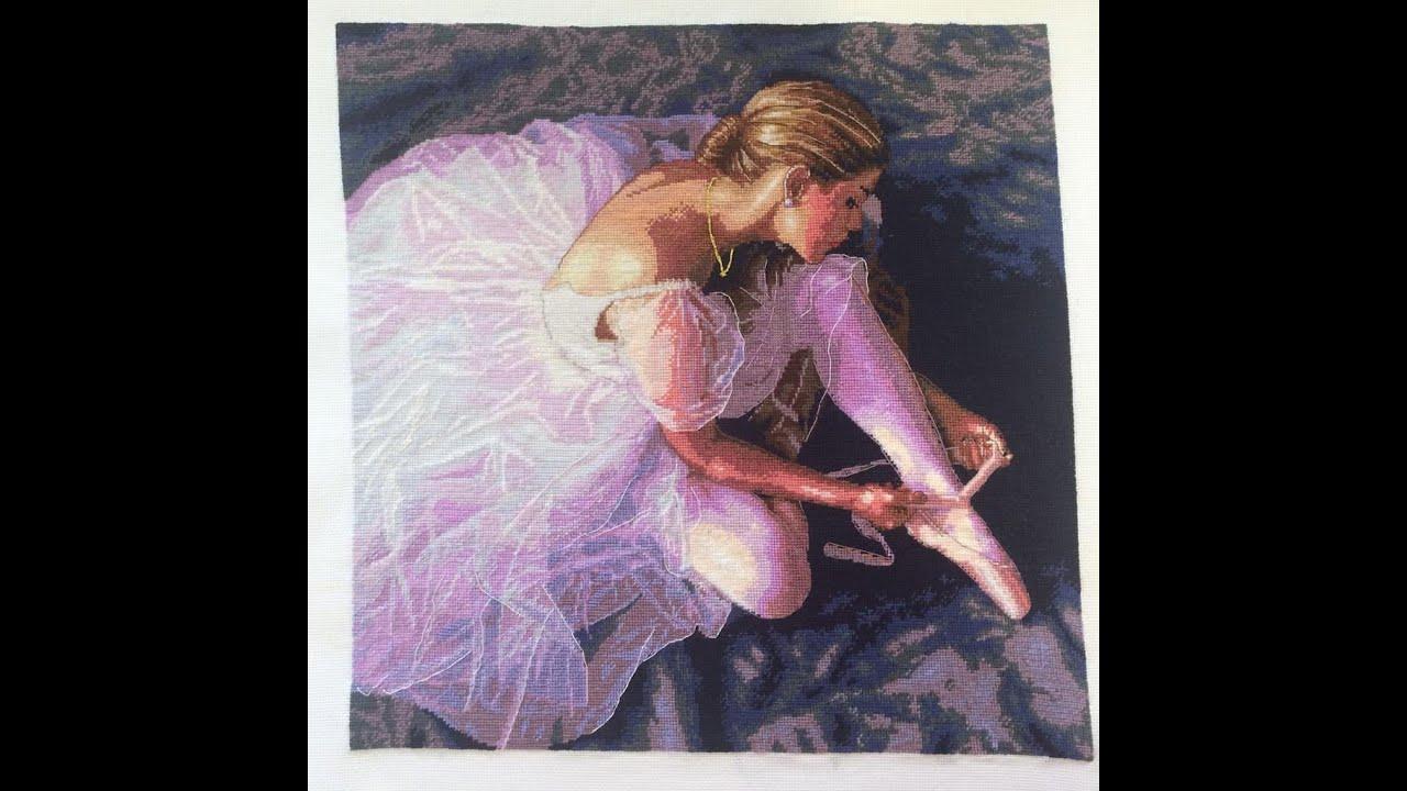 Вышивка dimensions балерина
