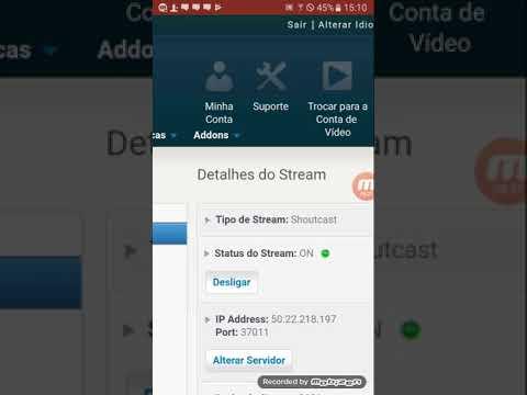 Criando Sua Rádio Pelo Android