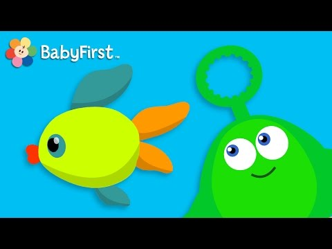 Bubble Fish and Helicopter  Learning Cartoons for Babies  Bloop and Loop  BabyFirst TV