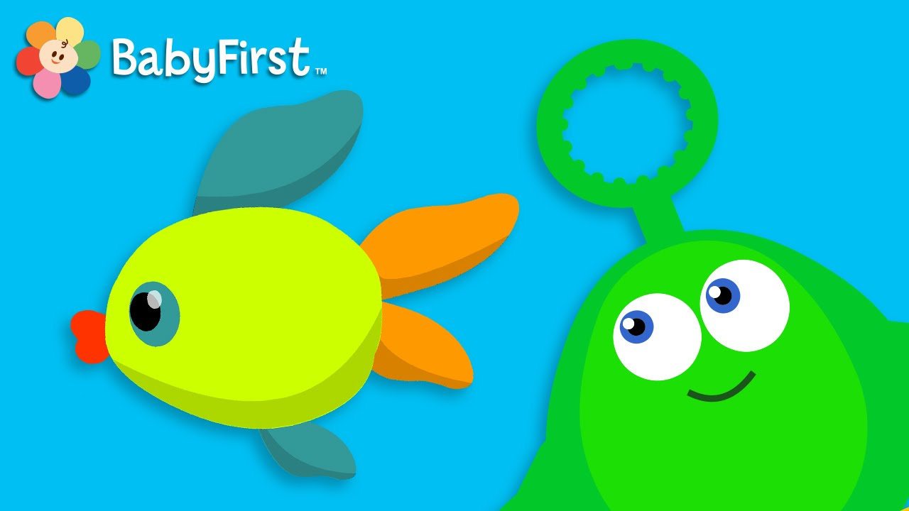 Bubble Fish and Helicopter   Learning Cartoons for Babies ...