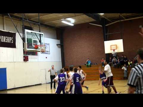 Amherst vs. Holyoke Middle School Western Mass Quarterfinals Part 2