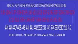 PALPITE MILHAR  JOGO DO BICHO  - 30 DE NOVEMBRO PT RIO 14 HS