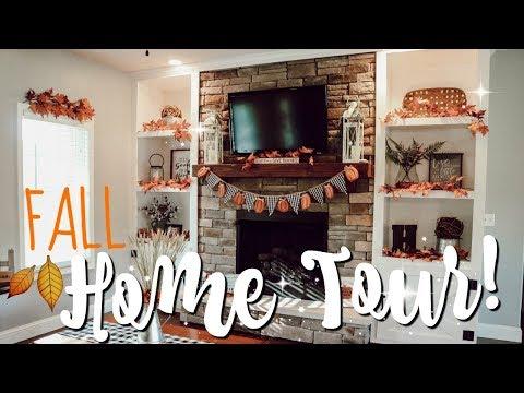 FALL HOME TOUR 2018! | FARMHOUSE FALL DECOR IDEAS & INSPO