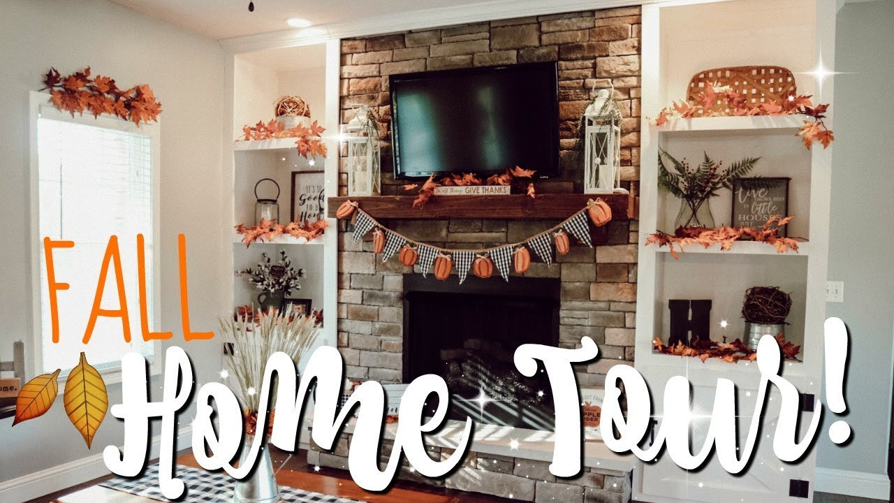 Fall Home Tour 2018 Farmhouse Fall Decor Ideas Inspo Youtube
