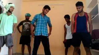Hostel boys dance practice