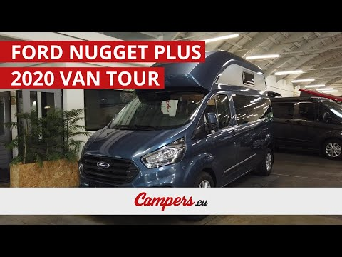 2020 Ford Transit Big Nugget Is A Spacious Factory Built Camper Van Youtube