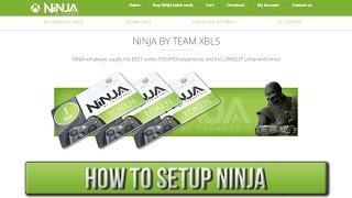 How To Setup NiNJA | XBLS/Xbox Live Stealth [JTAG/RGH]