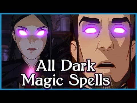 ALL Dark Magic Spells Reversed/Decoded in The Dragon Prince