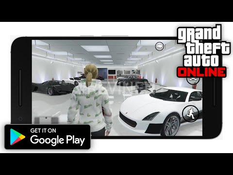 GTA 5 Online Android Gameplay (GTA V Online Mobile)
