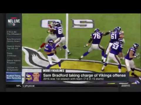 Greg Olsen Is Looking For New Contract, Sam Bradford Taking Charge Of Vikings Offense   NFL Live