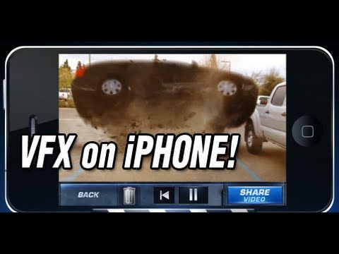 Action Movie VFX iPhone App  & Demo iPhone Video FX
