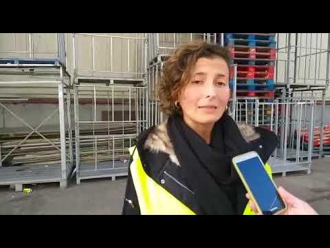 """Una trabajadora de Cabomar en huelga: """"Estamos pidiendo poder llegar a fin de mes"""""""