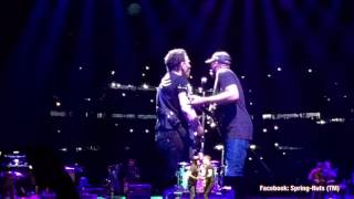 Bruce Springsteen/ Tom Morello The Ghost Of Tom Joad Met Life August 25th 2016