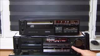 Sony CDP-101 & Technics RS-B905