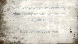 I BELIEVE IN YOU by Don Williams w/Lyrics