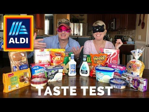 Aldi vs National Brand Taste Test