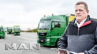 Services from MAN -  truck company Pfeiffer about MAN Financial Services