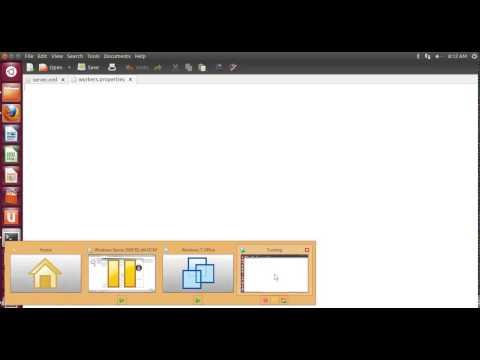 Virtual Host + Apache httpd server + Tomcat + mod jk connector