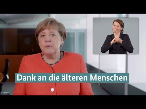 Kanzlerin Merkel dankt