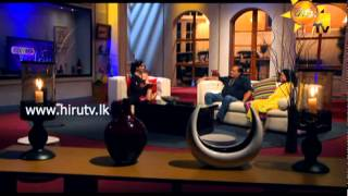 Hiru TV - Show Time With Niro EP 32 Ananda Wickramage & Manel Wanaguru | 2015-08-30