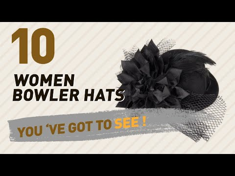 Women Bowler Hats, Amazon Uk Best Sellers Collection // Women's Fashion 2017