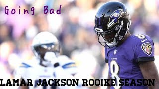 Lamar Jackson Rookie Season Highlights / Going Bad by Meek Mill Ft Drake