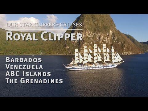 Our Star Clippers Cruises: Royal Clipper - Barbados, ABC Islands, Venezuela