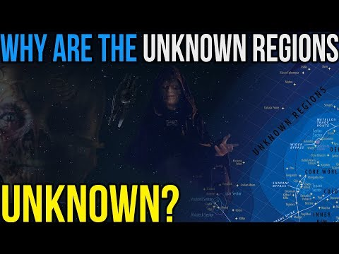 Why the 'Unknown Regions' are Unexplored and Unknown: Star Wars Legends & Canon
