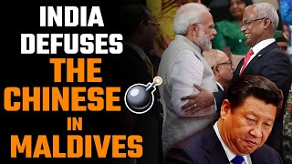India takes Maldives out of the Chinese clutches. Maldives says thank you!