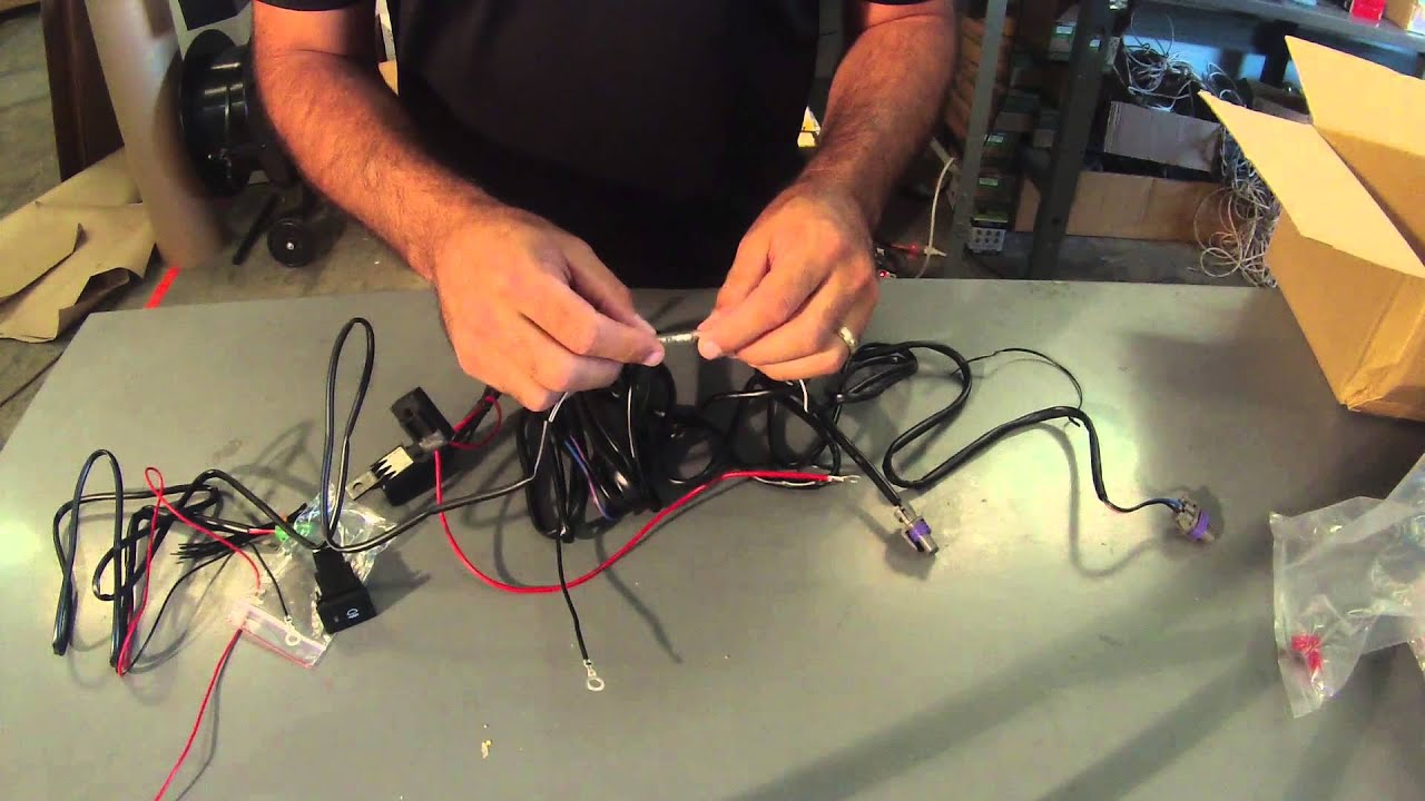 FOG LAMPS WIRING INSTRUCTIONS